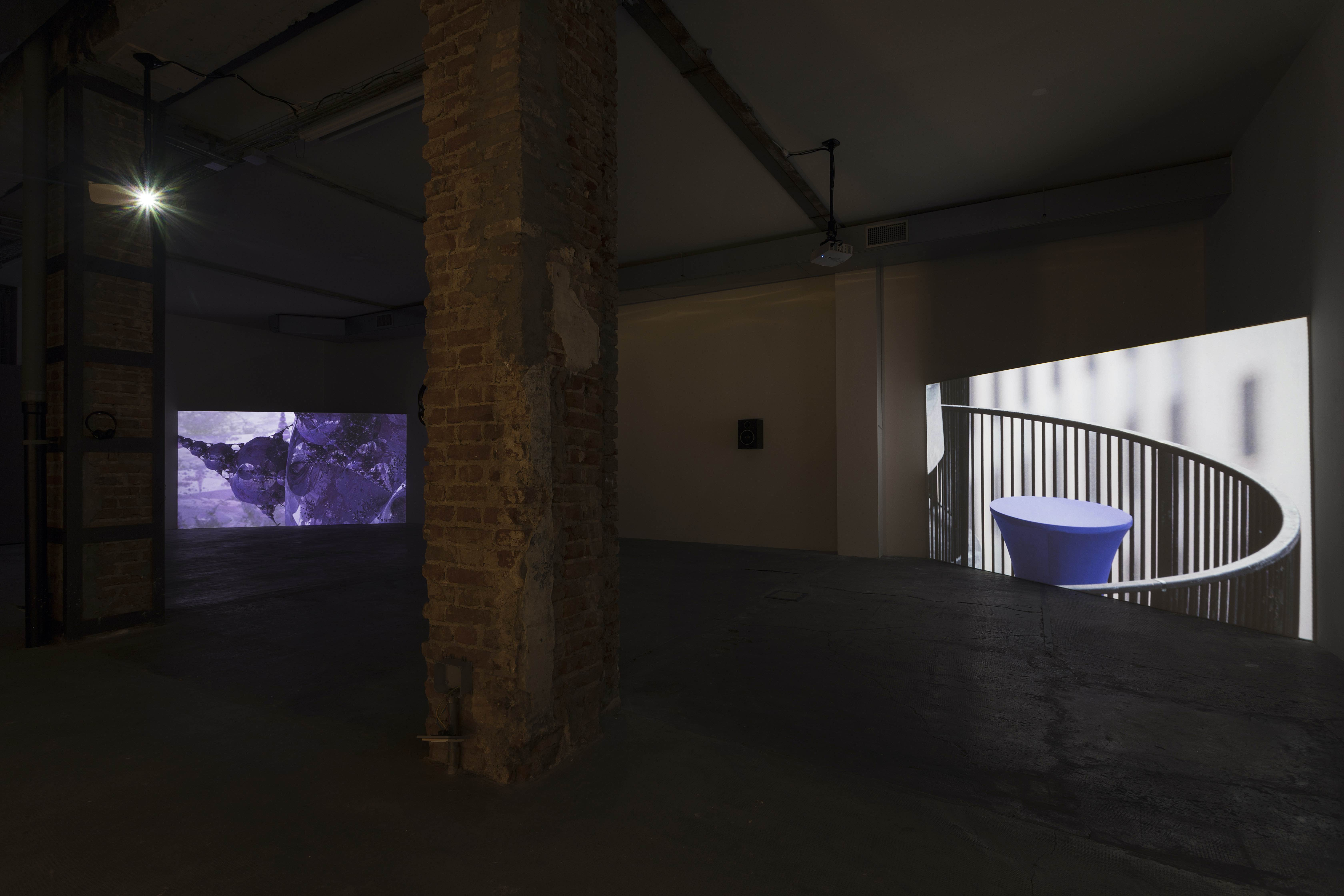 Exhibition view, Ordet, Milan