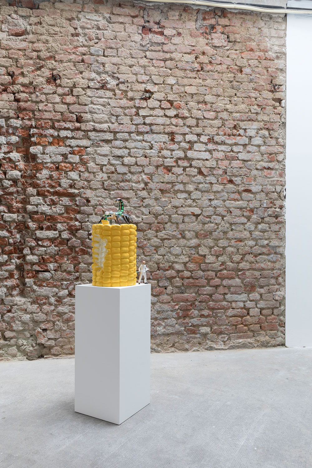 <i>Big Corn</i>, 2012. Installation view, Ordet, Milan