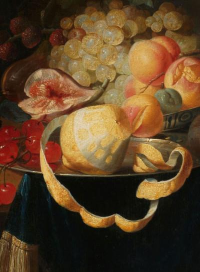 Johannes Hannot, <i>Still Life with Fruit</i>, 1668
