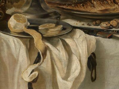 Pieter Claesz, <i>Still Life with a Fish</i>, 1647