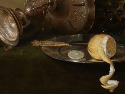 WillemClaesz Heda, <i>Still Life with a gilded Beer Tankard</i>, 1634