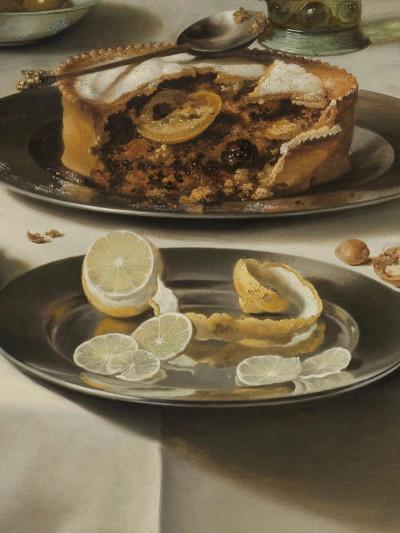 Pieter Claesz, <i>Still Life with a Turkey Pie</i>, 1627