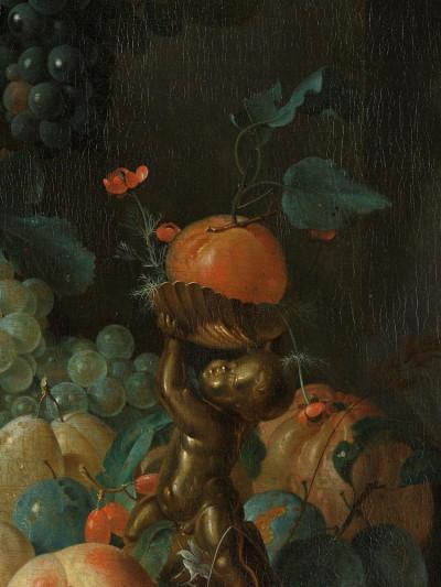 Coenraet Roepel, <i>Still Life with Fruit</i>, 1721