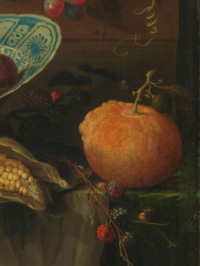 AbrahamMignon, <i>Still Life with Fruit and a Beaker<br>on a Cock's Foot</i>, 1660 - 1679
