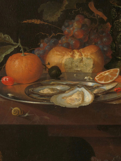 Abraham Mignon, <i>Still Life with Fruit and Oysters</i>, 1660 -1679